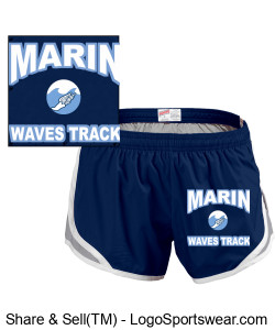 MARIN WAVES WOMEN'S RUNNING SHORT Design Zoom