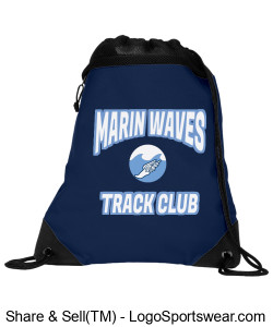 MARIN WAVES DRAWSTRING BAG Design Zoom