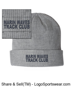 MARIN WAVES KNIT CAP Design Zoom