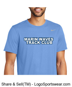 MARIN WAVES NIKE DRIFIT T-SHIRT Design Zoom