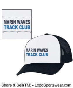 MARIN WAVES MESH SNAP BACK CAP Design Zoom