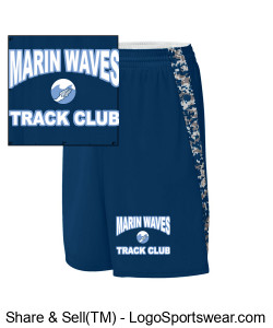 MARIN WAVES YOUTH LONG SHORT Design Zoom
